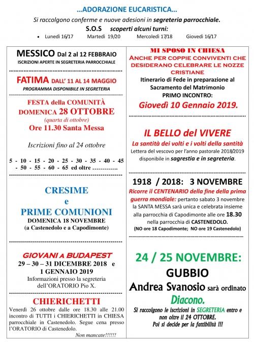 13 - 21 Ottobre 2018 2-2