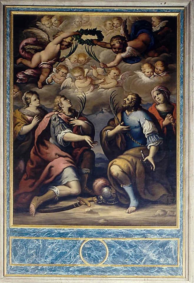 Terzo Altare A Sinistra e Sacrestia